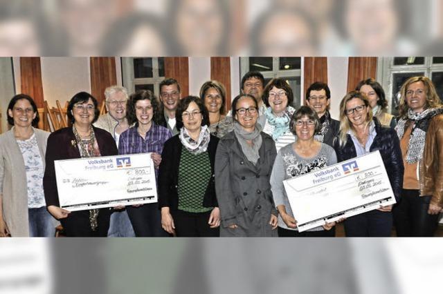 1600 Euro für zwei Kinderprojekte