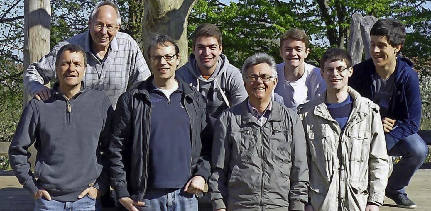 Meister: Markus Fischer, Martin Spitze..., Daniel Prill, Julian Boes (v. links)  | Foto: g. prill