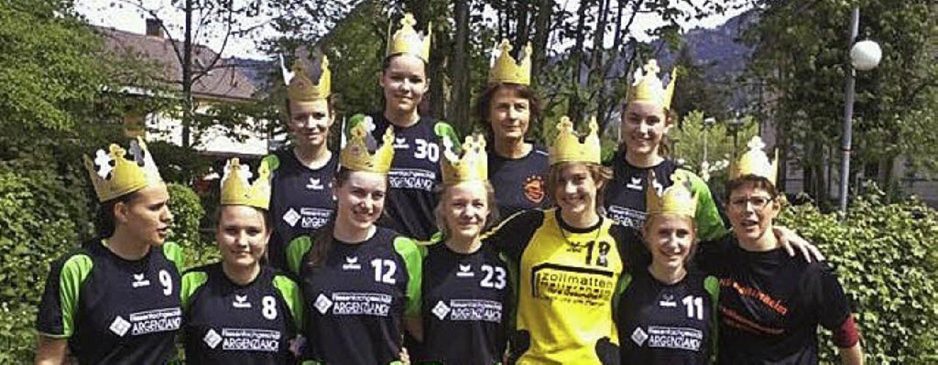 Meister: Die B-Mädchen der Handball-Löwen   | Foto: privat