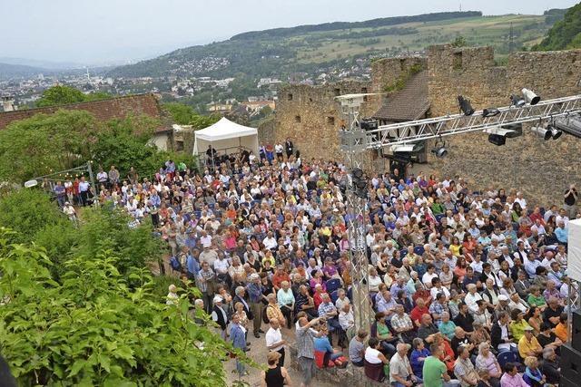 Jazz auf der Burg Rötteln in Lörrach