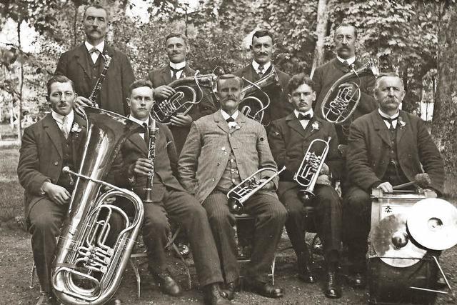 Holzhauern kommt im Winter 1890 die Idee der Vereinsgründung