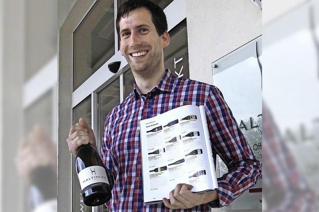 Chardonnay der Haltinger Winzer gehört zu den Topweinen