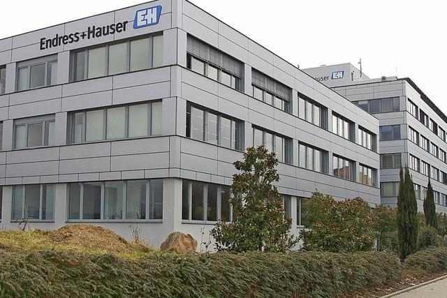 Endress+Hauser investiert 6,7 Millionen