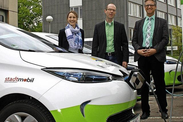 Elektroautos im Dauereinsatz