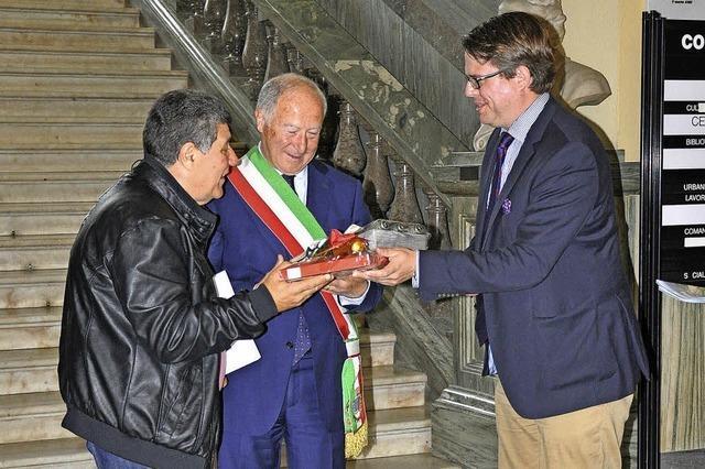 Besuch bei den Freunden in Italien