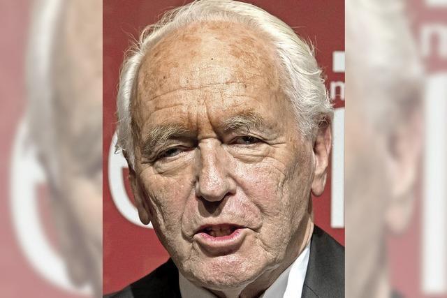 Sprachpapst Wolf Schneider wird 90