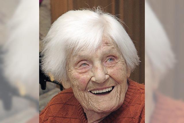 Lahrs älteste Einwohnerin ist mit 106 Jahren gestorben