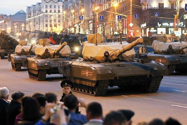 Sieg im Zweiten Weltkrieg: Russland bereitet Parade vor