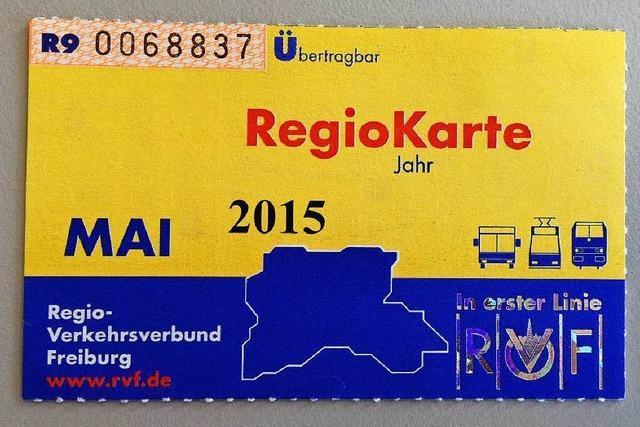 Die Regiokarte wird teurer