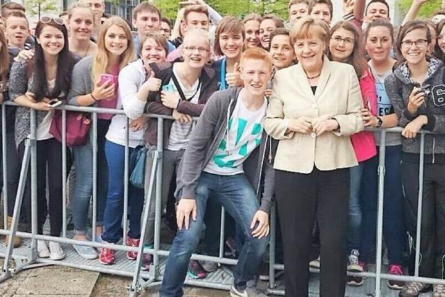 Hallo Frau Bundeskanzlerin