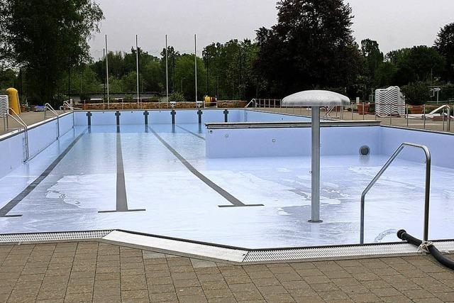 Am 16. Mai startet im Schwimmbad die Saison