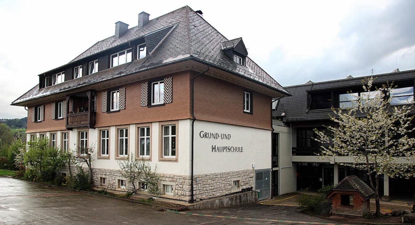 Die Grund- und Hauptschule Hinterzarte... Sie erhält auch eine neue Gasheizung.  | Foto: akh