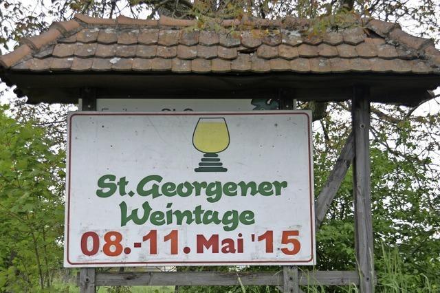 Am Freitag beginnen die St.Georgener Weintage