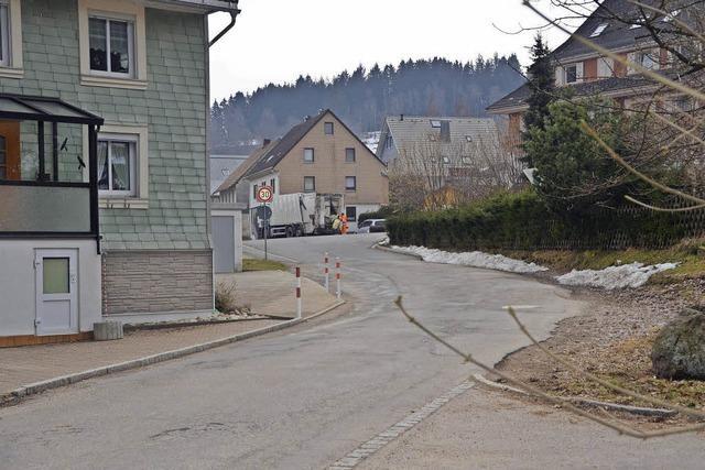 Kleine Straße wird saniert
