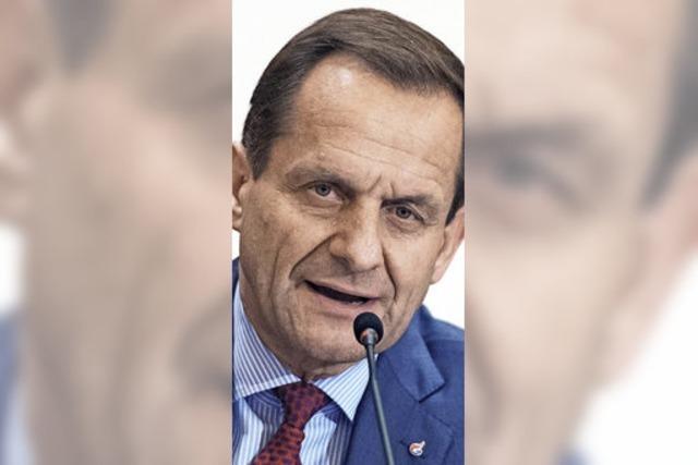 DOSB-Präsident Hörmann zieht Einspruch gegen Bußgeld-Zahlung zurück