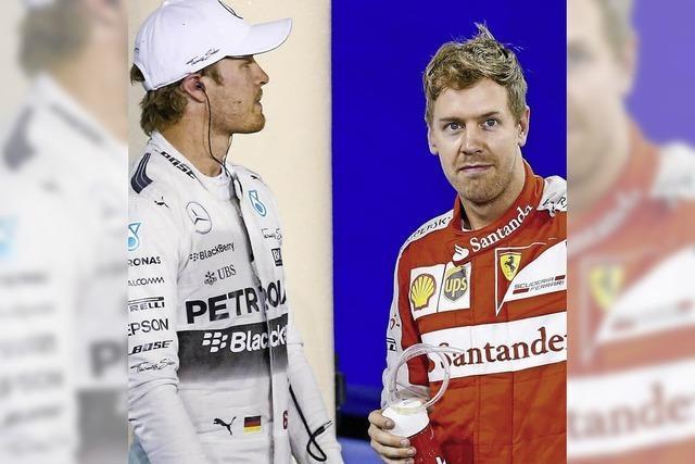 Rosberg und Vettel blasen zur Aufholjagd