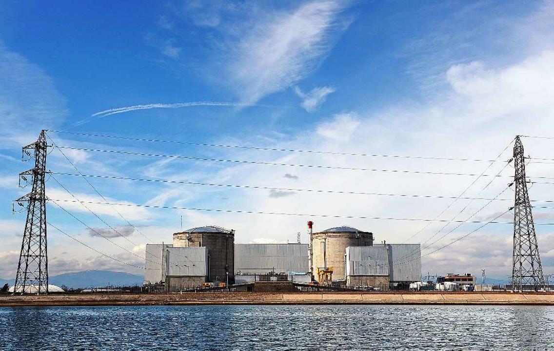 Das Atomkraftwerk im elsässischen Fessenheim.  | Foto: AFP
