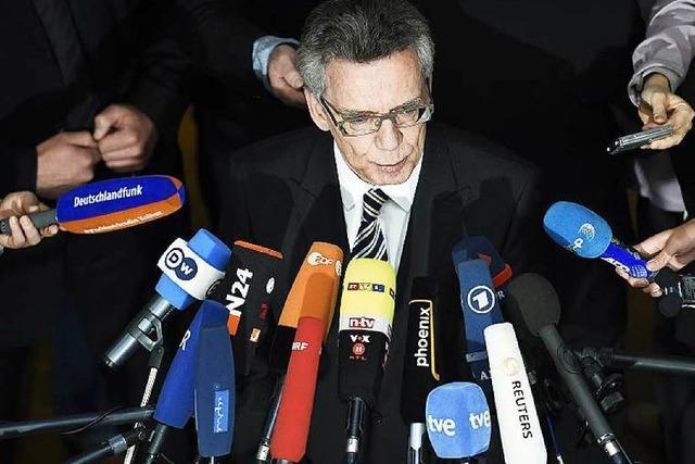 NSA-Affäre: Innenminister de Maizière sieht sich entlastet