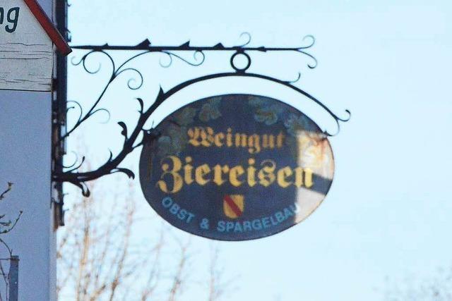 Beste Noten für Ziereisen-Chardonnay aus Efringen-Kirchen
