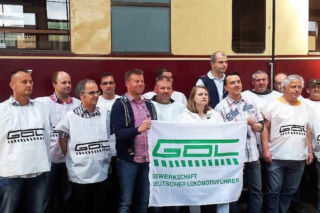 Wie der Bahnstreik bei den Lokführern in Weil am Rhein verläuft