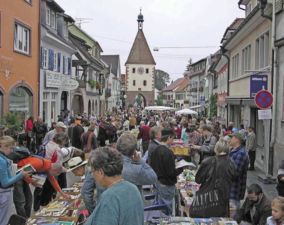 Seit  zehn Jahren lockt der Endinger B...Besuchern in die historische Altstadt.  | Foto: Veranstalter