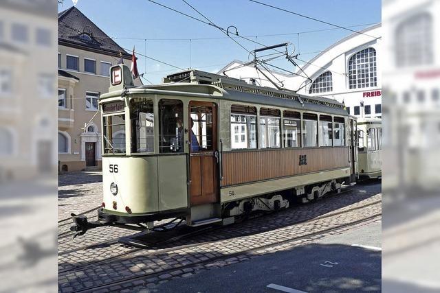 Die Oldtimer-Tramlinie startet in die Sommersaison