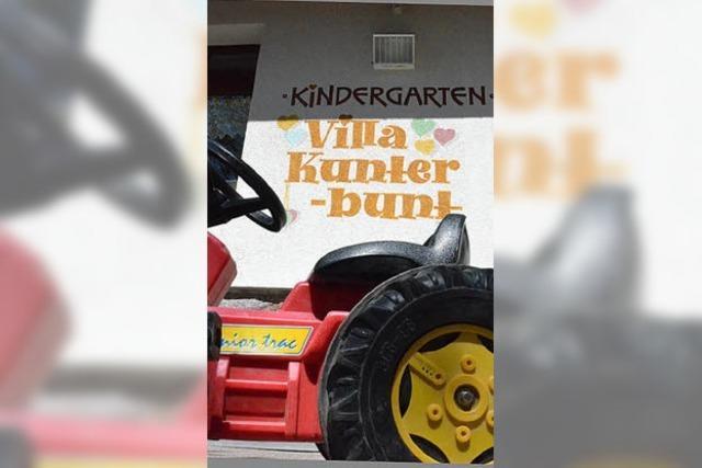 Im Kindergarten wird es langsam zu eng
