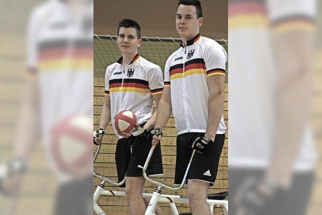 Auf zwei Rädern Richtung Bundesliga