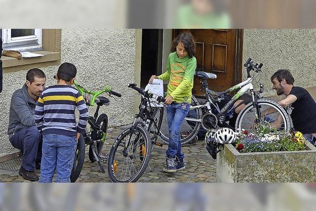 Ist auch das Fahrrad fit?