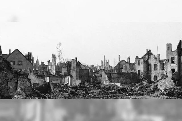 Kapitulation und Neubeginn in Freiburg