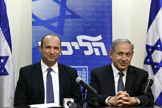 Rechte und Religiöse regieren in Israel