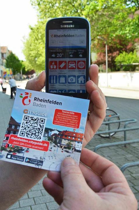 Der Cityguide fürs Smartphone  | Foto: Ingrid Böhm-Jacob