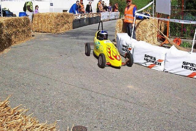 Am Wochenende findet das Seifenkistenrennen in Buggingen statt