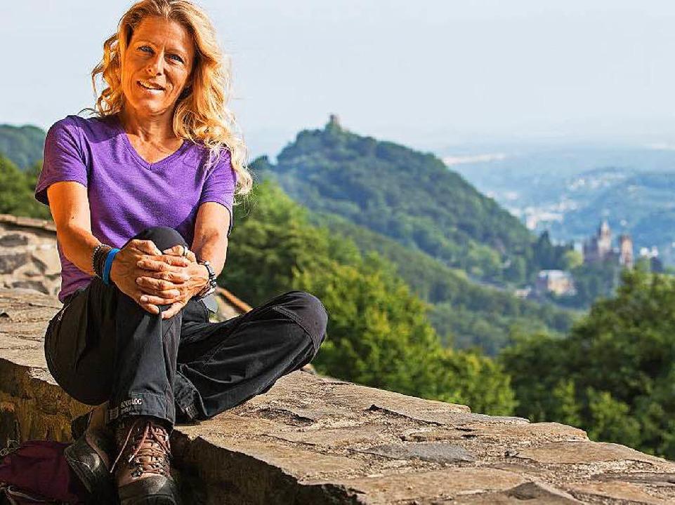 Die Wanderbloggerin Angelica Hocke läu...es von Blumberg bis zur Schattenmühle.  | Foto: Reiner Harth