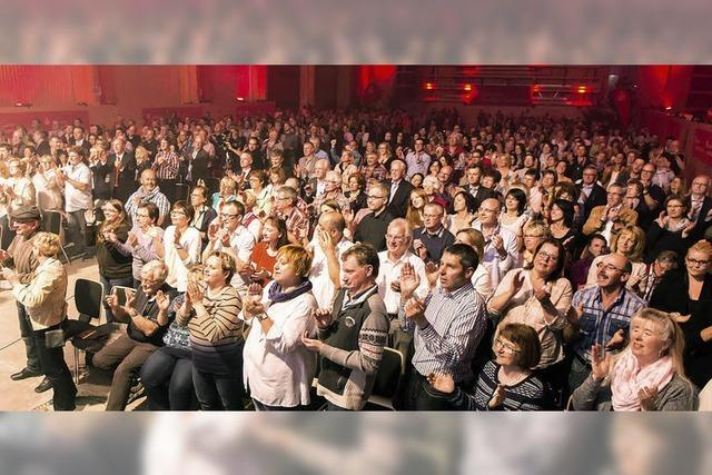Jubel, Beifall und stehender Applaus