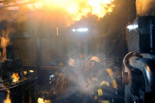 Feuerwehr probt in der Königsklasse