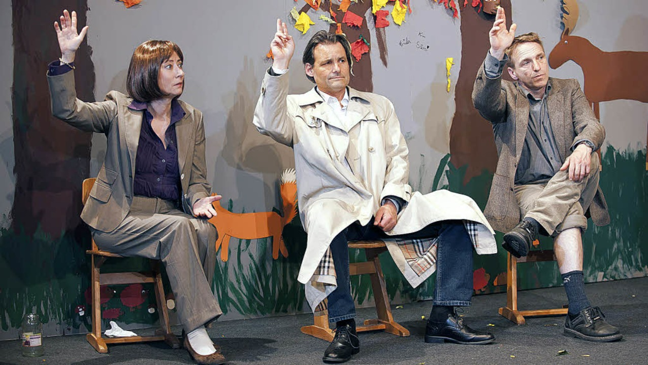 Frau Lehrer, ich weiß was<ppp></ppp> (... Burkhard Wein, Peter Haug-Lamersdorf     Foto: duarte