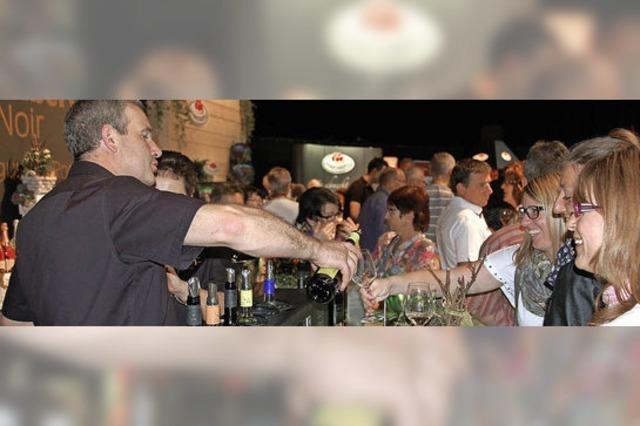 Weinmesse lockt viele junge Besucher