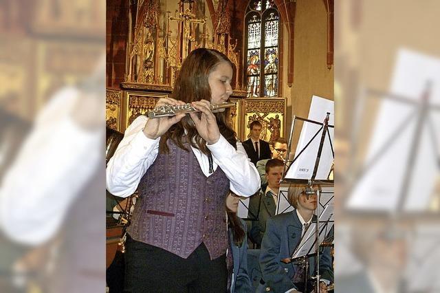 Musikverein begeistert die Pfarrgemeinde