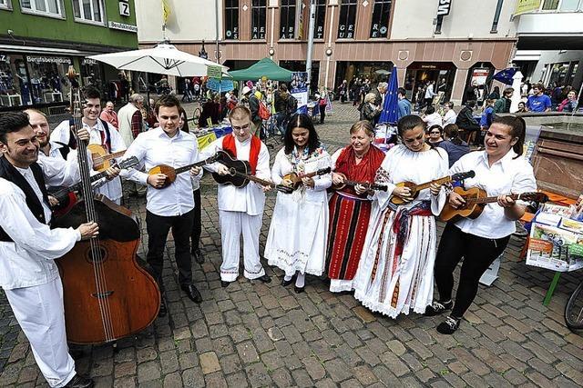 Eurpoa-Fest auf dem Kartoffelmarkt