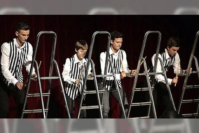 Junge Talente glänzten auf der Bühne