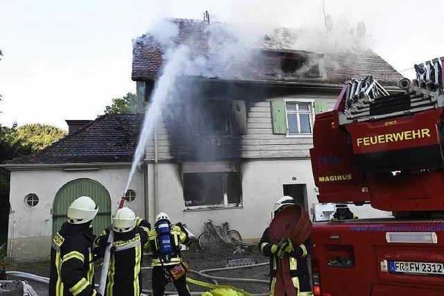 Brand in Oberweiler – Haus vermutlich unbewohnbar