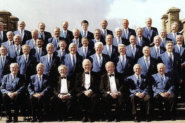 Barry Male Voice Choir aus Wales im Vacono Dome