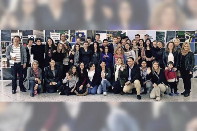 Gymnasiasten in Istanbul