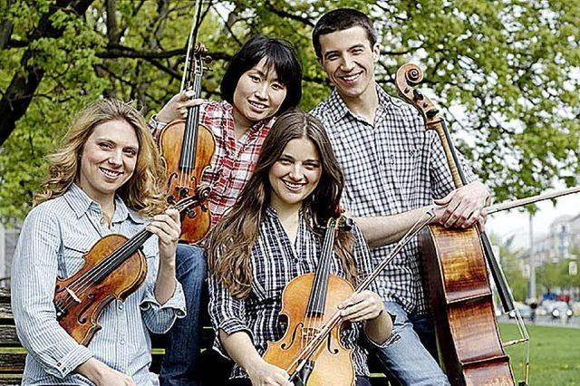 Anima Quartett im Ev. Gemeindezentrum in Kirchzarten