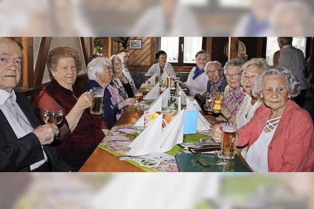 Klassentreffen der 90-Jährigen