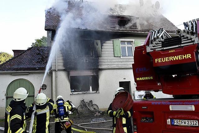 Brandursache ist noch unklar