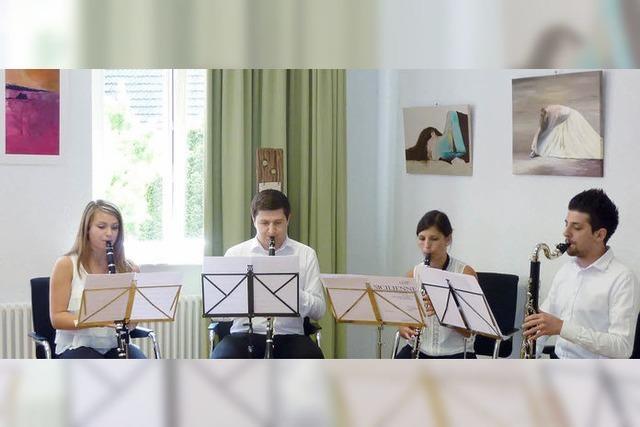 Musik und Kunst verbinden die Länder