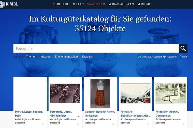 Internetportal listet Kulturgüter des Kantons Baselland