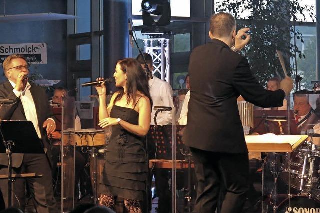 Die Stadtmusik lässt die Sterne funkeln
